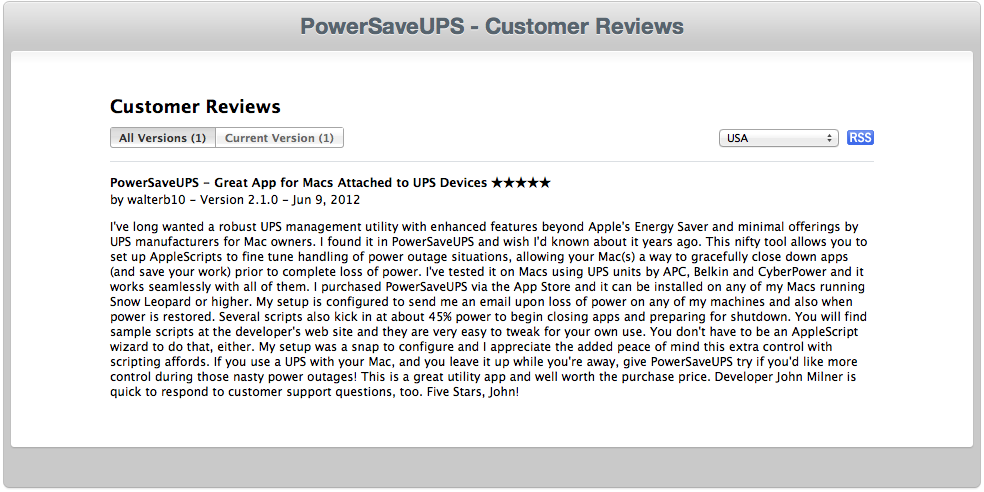 App Store Review